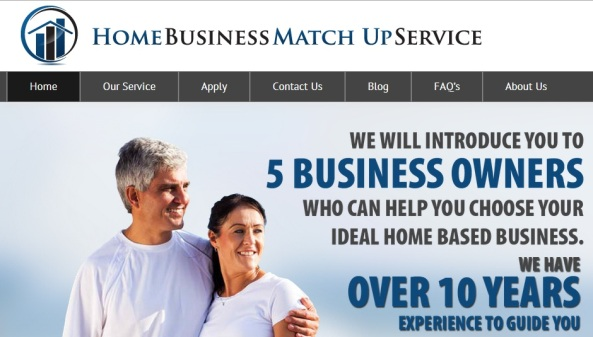 Home Business Match Up Services
