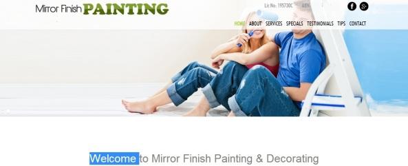 Mirror Finish Painting